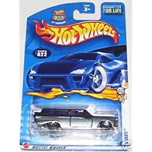 Mattel Hot Wheels 2003 First Editions 1:64 Scale Silver 8 Crate Die Cast Car 022