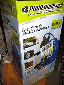Powerwasher the Original Electric Clean Machine 1300 Psi 11poe-1314