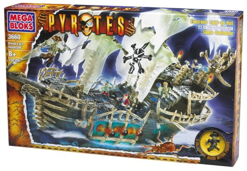 Pyrates: Dread Eye's Phantom - Buy Pyrates: Dread Eye's Phantom - Purchase Pyrates: Dread Eye's Phantom (Megabloks, Toys & Games,Categories,Construction Blocks & Models,Building Sets)