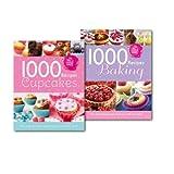 Igloo Books 1000 Recipes for Cupcakes & Baking 2 Books Collection Set, (1000 Cupcake Heaven Recipes & Baking - 1000 Recipes)