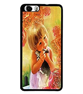 PrintDhaba Cute Baby D-4354 Back Case Cover for HUAWEI HONOR 6 (Multi-Coloured)