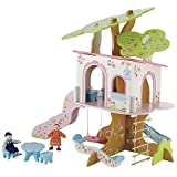 ELC Rosebud Village Tree House Playset