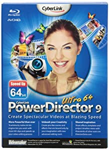 Powerdirector 9 Ultra 64 (bilingual software)
