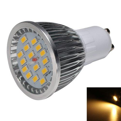 Mudder® Gu10 6W 500Lm 3000K 15-Smd 5630 Led Warm White Light Spotlight Lamp Ac 85~265V