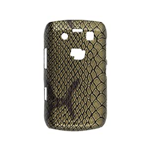 Snake Print Hard Plastic Back Defender Case Cover for Blackberry 9700