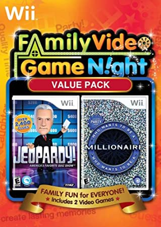 Family Game Night Value Pack: Jeopardy and Who Wants To Be a Millionaire Bundle