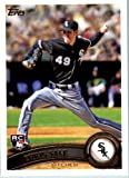 2011 Topps Baseball Card #65 Chris Sale RC - RC - Rookie Card - Chicago White Sox - MLB Trading Card In A Protective Screwdown Case