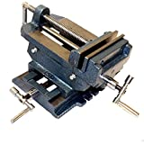"HFS (Tm) Brand 4"" Cross Slide Vise Drill Press Metal Milling 2 Way X-y Heavy Duty Clamp Machine"