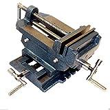 "HFS (Tm) Brand 4"" Cross Slide Vise Drill Press Metal Milling 2 Way X-y Heavy Duty Clamp Machine"