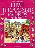 echange, troc Heather Amery - First 1000 Words in Hebrew