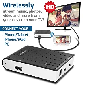 GYF-1000 YFi2TV Network Audio/Video Player - Wi-Fi