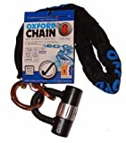 Oxford High Security Heavy Duty Chain Lock - Black, 1.0 m