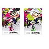 Inkling Hotaru & Aori amiibo (Splatoon Series) Compatible with US systems (region free) [Japan Import]