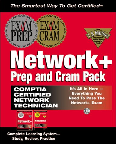 Network+ Prep and Cram Pack with CDROM