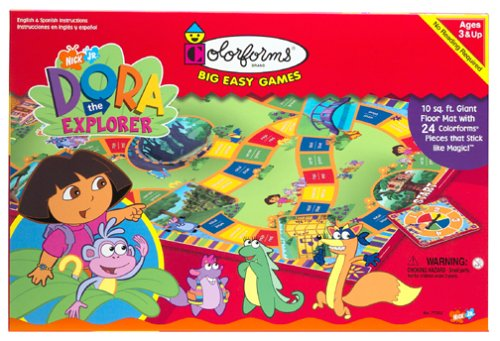Buy Colorforms: Dora the Explorer Big Easy Game