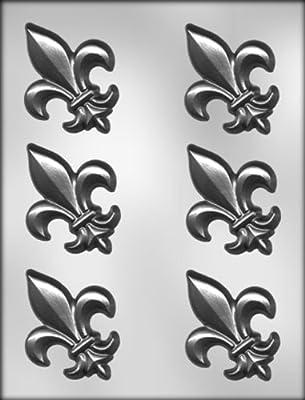CK Products 3-Inch Fleur De Lis Chocolate Mold