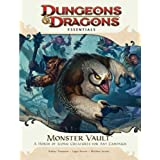 Monster Vault: An Essential Dungeons & Dragons Kit (4th Edition D&D) ~ Rodney Thompson
