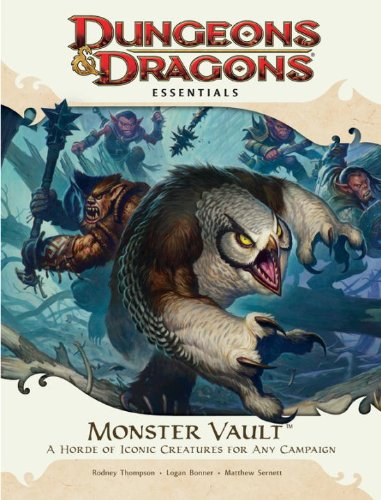 Monster Vault: An Essential Dungeons & Dragons Kit (4th Edition D&D)
