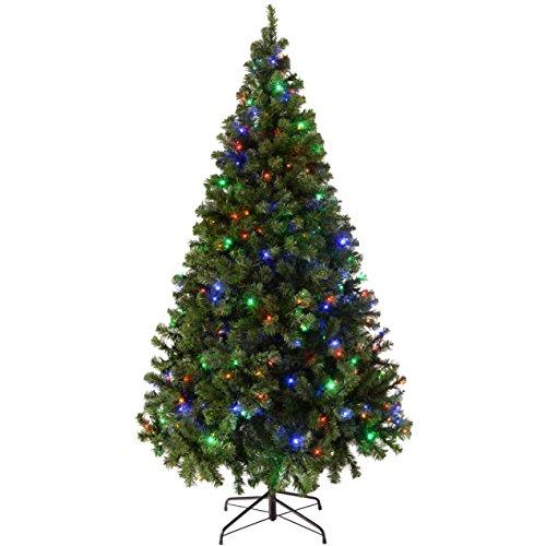 werchristmas-pre-lit-spruce-multi-function-christmas-tree-300-led-lights-7-ft-21-m-multi-colour