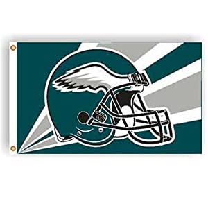 Philadelphia Eagles NFL Helmet Design 3
