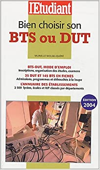 bien choisir son bts ou dut 9782846244039 books. Black Bedroom Furniture Sets. Home Design Ideas