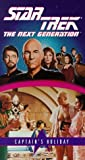 echange, troc Star Trek Next 67: Captain's Holiday [VHS] [Import USA]