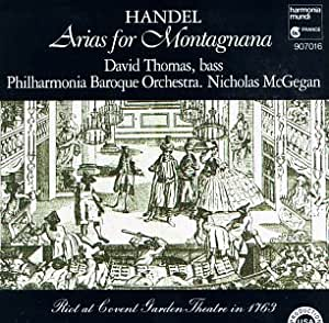 Handel;Arias for Montagnana