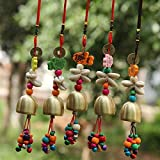 Yard Garden Outdoor Wind Belling Charms Chimes Phone Bag Home Hanging Decor Gift