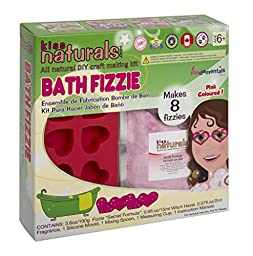 DIY Bath Fizzie Kit by Kiss Naturals