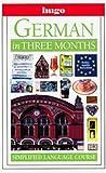 Hugo Language Course: German In Three Months (0789432293) by Martin, Sigrid B.