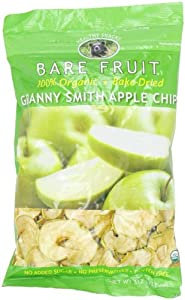Bare Fruit Organic Granny Smith Apple Chips, Gluten-Free + Baked, 11-Ounce Bags (Pack of 2)