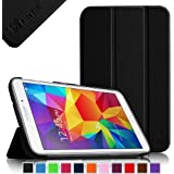 Fintie Samsung Galaxy Tab 4 7.0 Case - Ultra Slim Lightweight Smart Shell Standing Cover for Samsung Tab 4 7.0(7-Inch) Tablet (WILL NOT Fit Samsung Galaxy Tab 3 7.0), Black