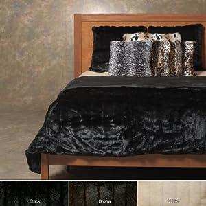 Amazon Com Best Home Fashion 1 Pc Faux Fur Duvet Cover