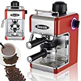 Sentik Professional Espresso Cappuccino Coffee Maker Machine Home - Office (Red)