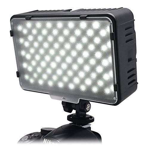 Mcoplus® 168A 3200K - 5500 K Ultra High Power pannello digitale fotocamera / videocamera LED luce LED Studio per videocamera fotocamera reflex digitale Canon, Nikon, Pentax, Panasonic, Samsung e Olympus