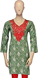 Belle Casual Embroidered Women's Kurti (BC 14_42)