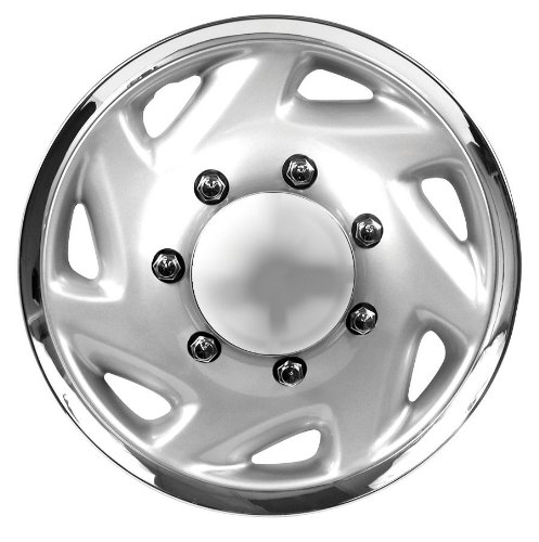 "Custom Accessories 81703 16"" Sahara Truck Wheel Cover, (Set of 4)"