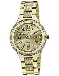 Daniel Klein Analog Gold Dial Women's Watch - DK10546-8
