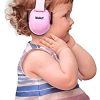 BEBE Muff Hearing Protection - BEST USA Certified Noise Reduction Ear Muffs, Fairy Floss, 3 months+ by Bebe by Me International