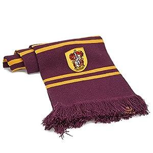 Harry Potter Schal - Gryffindor, Slytherin, Ravenclaw - 190cm - Cinereplicas (Gryffindor Lila und Gold)