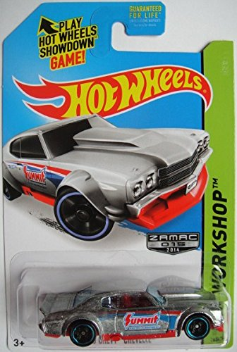 2014 Hot Wheels Hw Workshop Zamac Edition - '70 Chevy Chevelle - [Ships in a Box!] - 1