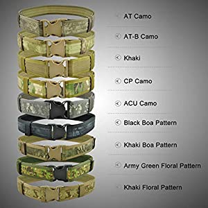 Generic Quick Release CS Military Army Rigger Webbing Tactical Belt by Generic