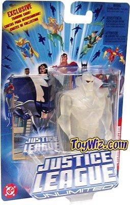 Picture of Mattel Justice League Unlimited Clear Martian Manhunter Action Figure (B0007P2L8W) (Mattel Action Figures)