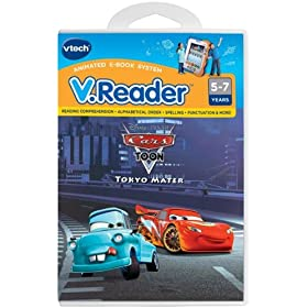V.Reader Animated E-Book Cartridge - Cars