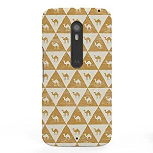 Koveru Designer Printed Protective Snap-On Durable Plastic Back Shell Case Cover for Motorola Moto X Style - Egyptology