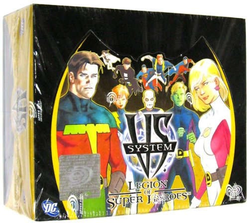 Imagen de DC VS System Trading Card Game Legión de Caja Booster Packs SuperHeroes 24