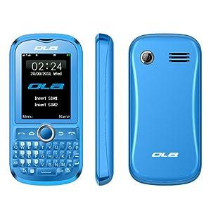 DUAL SIM QUAD BAND UNLOCKED MP3/MP4 GSM CELL PHONE OLA LIMUS BLUE