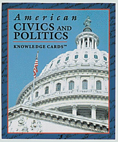 American Civics and Politics Knowledge Cards™, Pomegranate