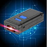 Seesii Portable Laser Wireless Bluetooth 1D Barcode Scanner Bar Code Reader 1000mA Battery for App iOS Android Window