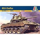 タミヤ イタレリ 1/35 ミリタリーシリーズ 38431 アメリカ 軽戦車 M24 チャーフィー 38431
